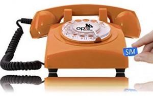 ein Retro-Telefon als Tischhandy!