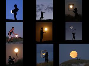 Das Spiel mit dem Mond