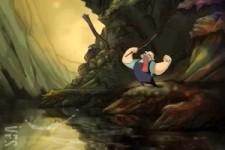 Zeichentrick - wenn Fische sich wehren