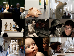 Im Inneren der Skulptur Museen und Galerien