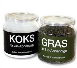 Gras und Koks im Glas für Un-Abhängige!