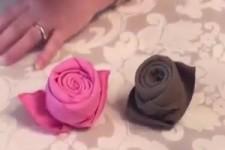 Servietten-Rose
