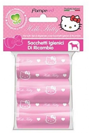 Hello Kitty Kotbeutel in rosa/weiss. Damit die...