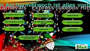 karnevals express-jukebox hits 2016