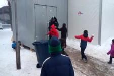 Schwere Ausschreitungen in Serbischem Flüchtlingsunterkunft
