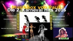 Jukebox - Paulis 2 Karneval Hits 2016