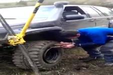 Böller bei Reifenpanne helfen- russ.