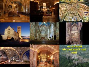 Assisi - Basilica Heiliger Franziskus