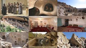 Iran Felsenwohnungen E