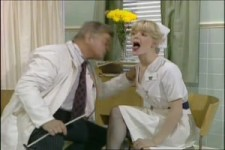 im Krankenhaus mit Benny Hill