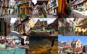 Eguisheim-Maerchenstadt im Elsass
