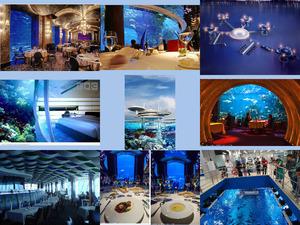 Unterwasser Restaurant in Dubai