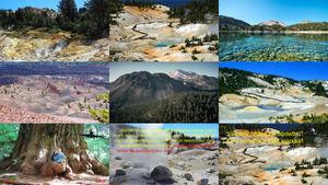 USA National park California E.