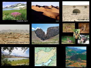 Iran-Persien natur