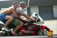 Motorradfahren will gelernt sein