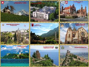 Europa, jedes Land, ein schönes Bild