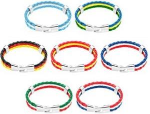 Stylisches Armband zur Fußball-EM!