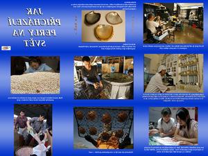 Wie Perlen zum Schmuck verarbeitet werden