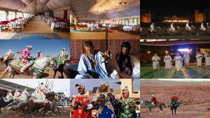 Marokko Reiterspiele der Berber
