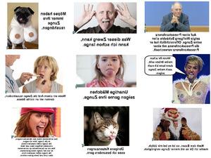 Zunge rausstrecken lustige bilder