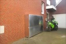 Marke Eigenbau - Motoradgarage für kleinen Platz