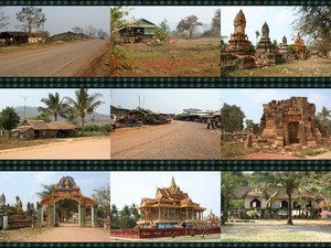 Dörfer in Kambodscha