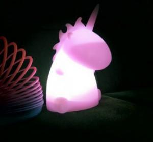 Einhorn Leuchte - Pink!