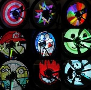 LED Speichenbeleuchtung!