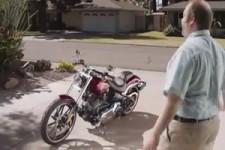Mit einer Harley bin ich ein Anderer