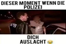 Wenn die Polizei Dich auslacht