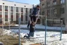 Russische-super Sportler
