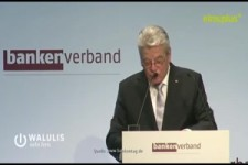 Gauck und der Bankenverband