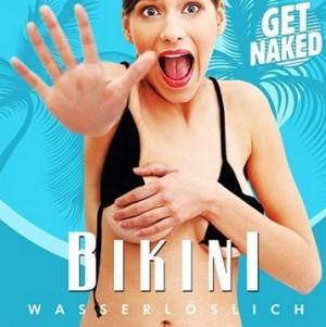 Wasserlöslicher Bikini!