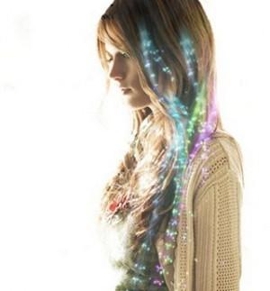 Buntes Leucht-Lametta fürs Haar!