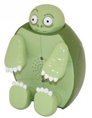 schimpfende Schildkröte mit Bewegungssensor !