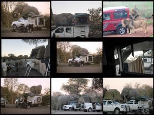 Camping in Afrika