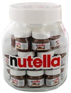 Nutella im Nutella-Glas!