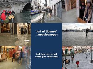 Venedig ist überschwemmt