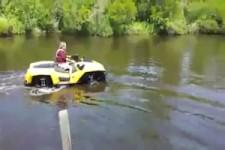 cool zu Land und auf Wasser