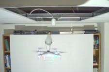 Birne wechseln mit einer Drohne