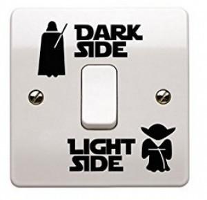 Star Wars Lichtschalter Aufkleber!
