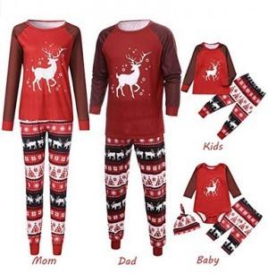 Weihnachtsschlafanzüge für die ganze Familie!