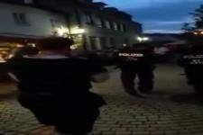 Die Polizei provozieren