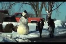Vorsicht Schneemann