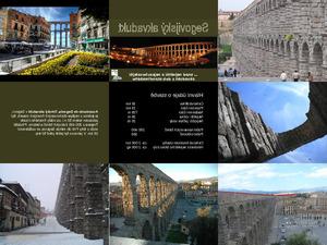 Aquadukt in Segovia, Spanien