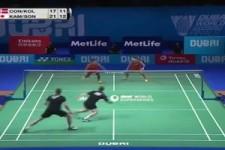 Geniales Badminton-Spiel