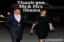 Danke Mr. and Mrs. Obama