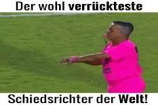 Schiedsrichter in Pink