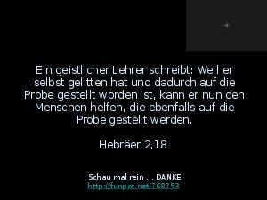 Der Spruch fuer 03.02.2017