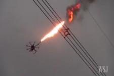 Flammenwerfer Drohne